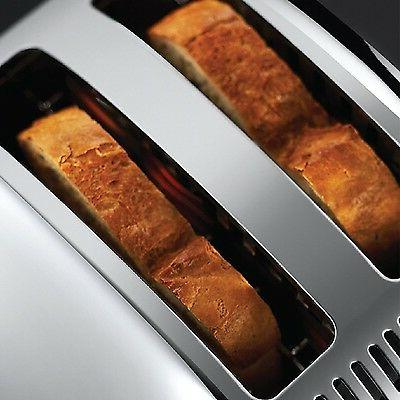 Russell Hobbs Long Toaster - Stainless Steel S...