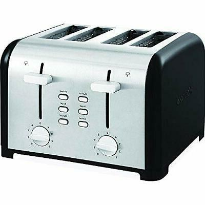 New KENMORE 4-Slice BAGEL TOASTER Stainless Bread KitchenToa