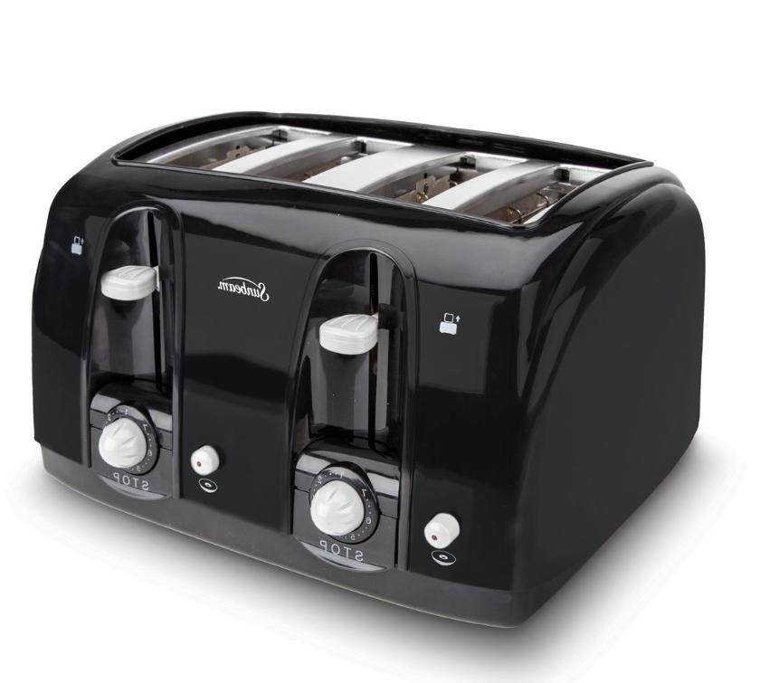 4 Electric Bagel Kitchen Digital Toaster