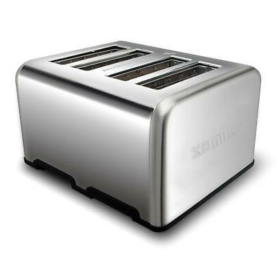 4 Toaster Electric Four Wide Bagel Kitchen Digital US
