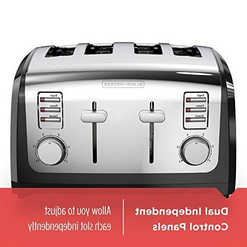 BLACK+DECKER Toaster, Stainless