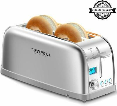 4 slice toaster long slot toasters best