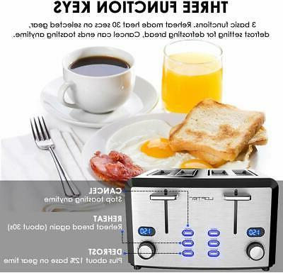 4 Mirror Stainless Steel Toaster Best Rated Prime, Compact