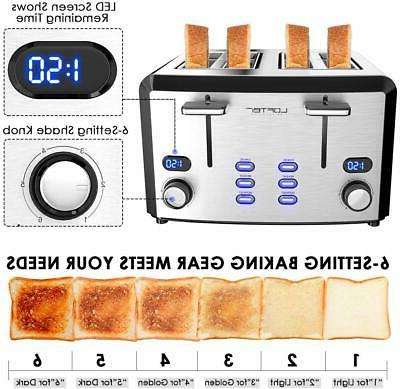4 Toaster, Mirror Steel Best Rated