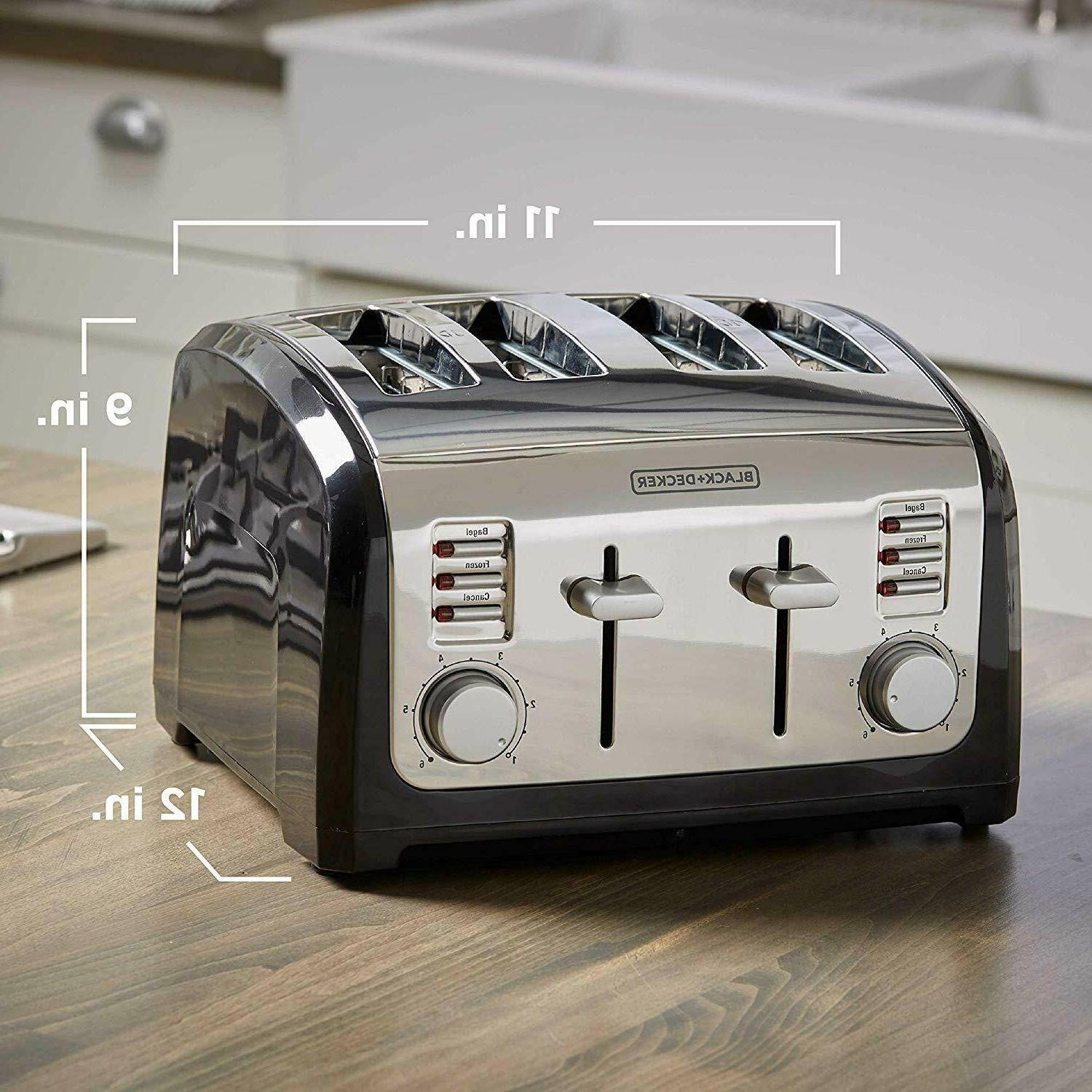 4-Slice Toaster Function Extra Wide Stainless Steel,
