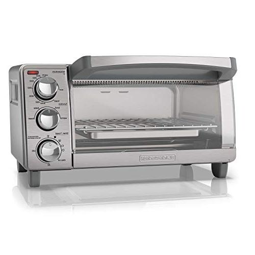 BLACK+DECKER 4-Slice with Natural Steel,