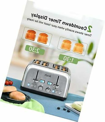 4 Toaster, Best Rated Stainless Steel