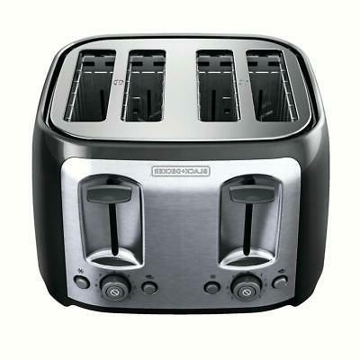 4 slice toaster with extra wide slots