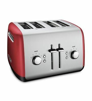 KitchenAid® 4-Slice Toaster with Manual High-Lift Red,
