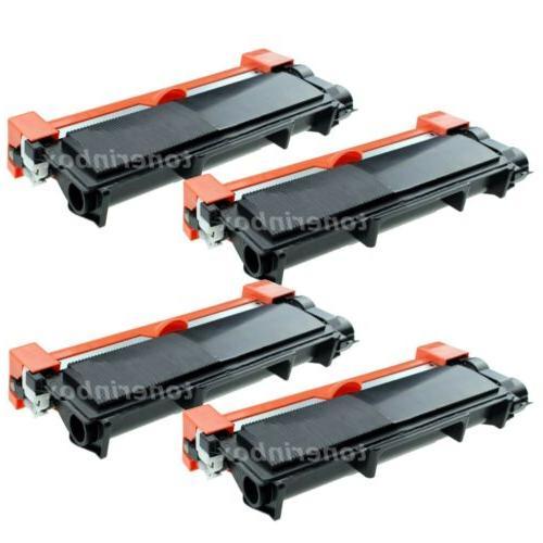 4pk toner cartridge for brother tn660 tn630
