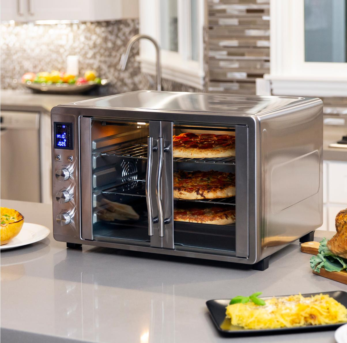 55L Extra Large Oven w/ French