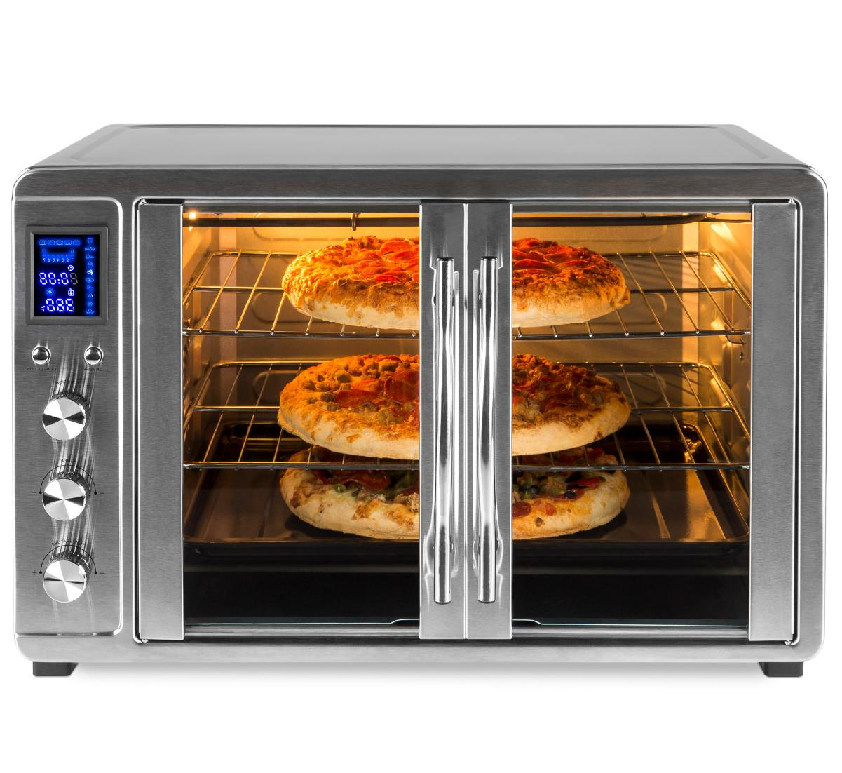 55l 1800w extra large countertop turbo convection