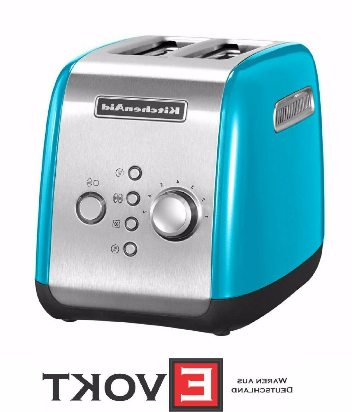 Kitchenaid 5KMT221ECL Toaster  for 2 panes of all-metal hous