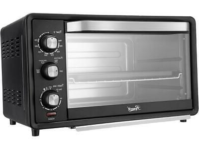 6 slice convection toaster oven 19l countertop