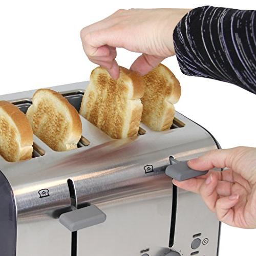West Bend Wide Bagel Lift and Removable Tray,