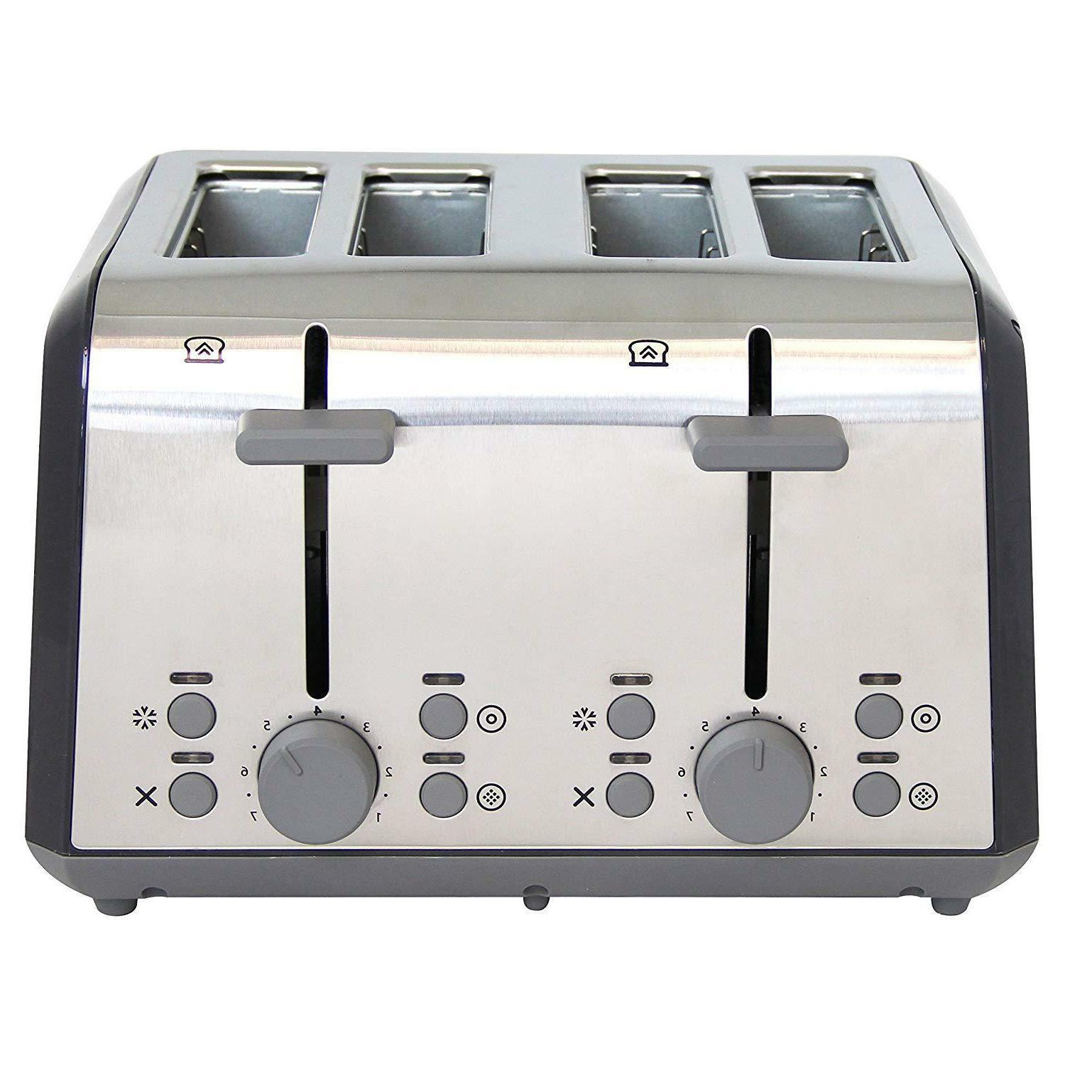 West Bend Extra Wide Toaster Bagel Settings Ultimate Toast Lift