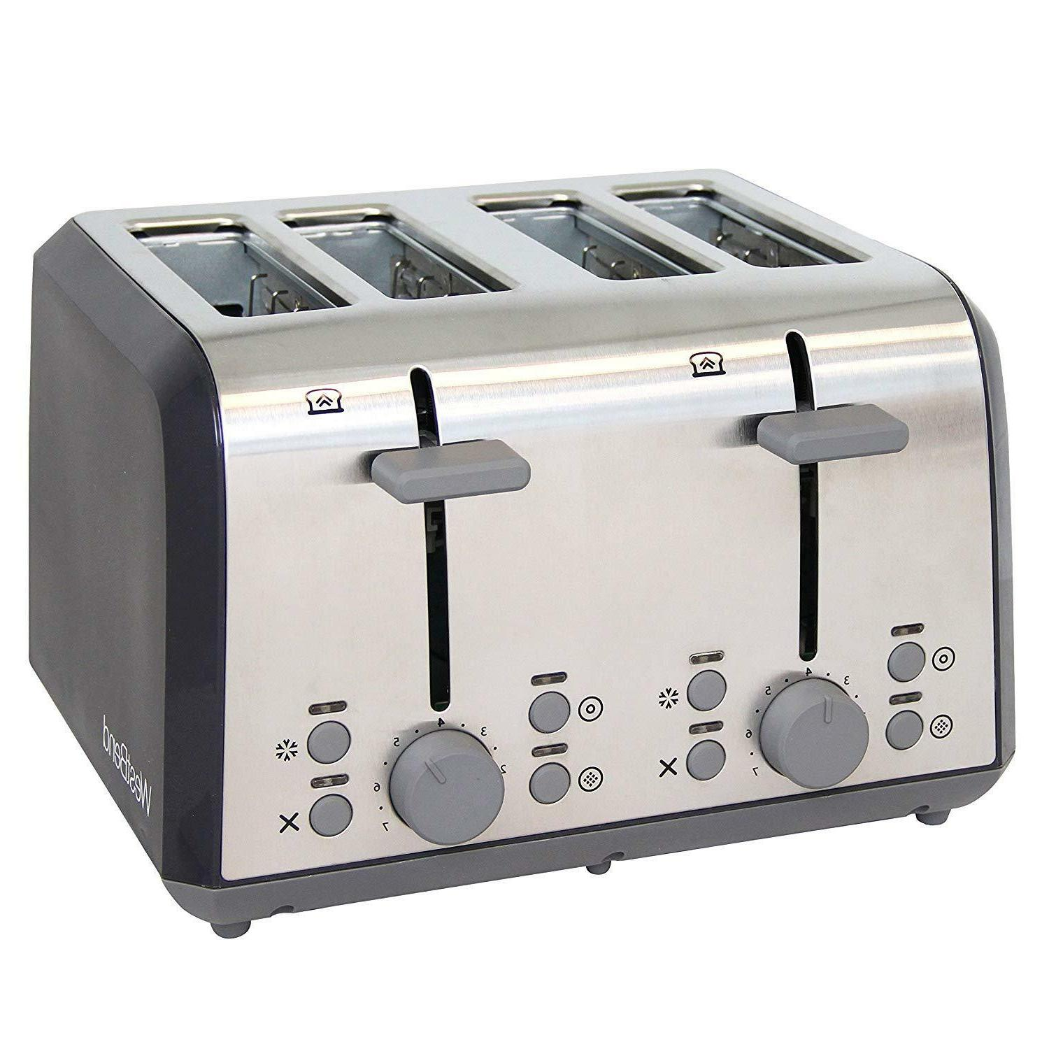 West Bend 78824 Extra Wide Slot Toaster with Bagel Settings