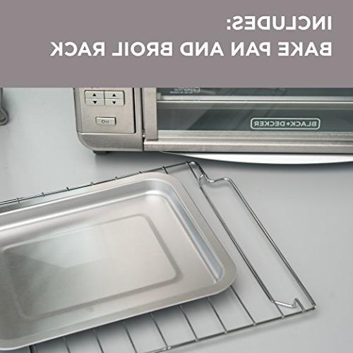 Black Decker 6 Slice Digital Convection Countertop Toaster
