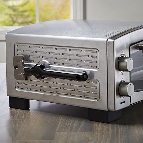 BLACK+DECKER P300S 5-Minute Oven & Toaster Oven, Silver