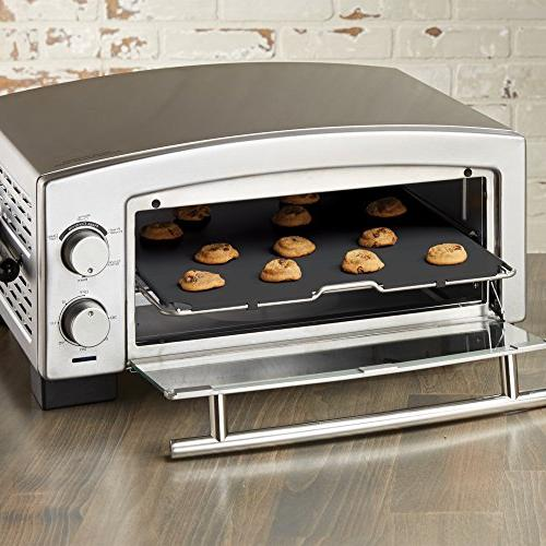 BLACK+DECKER 5-Minute Oven Toaster Oven, Stainless Silver