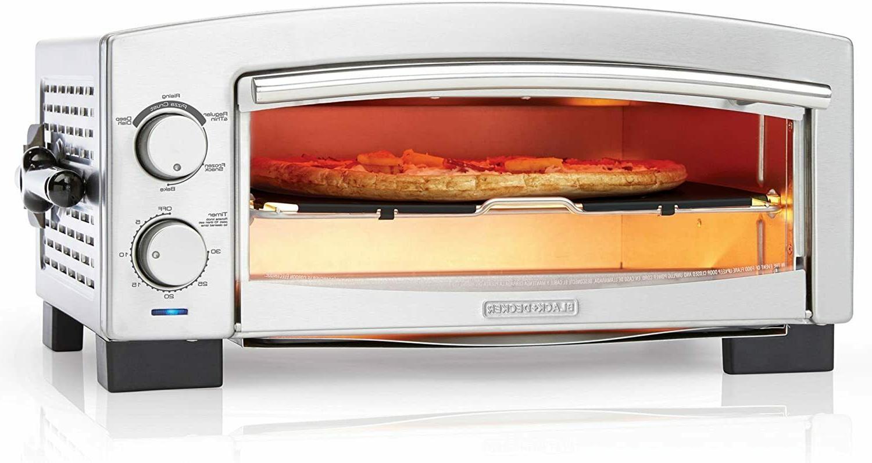 BLACK+DECKER P300S 5-Minute Pizza Oven & Snack Maker, Toaste