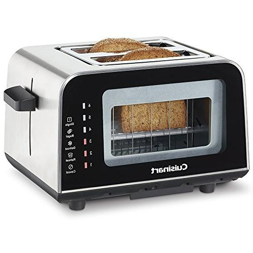 Cuisinart ViewPro 2 Toaster, Black
