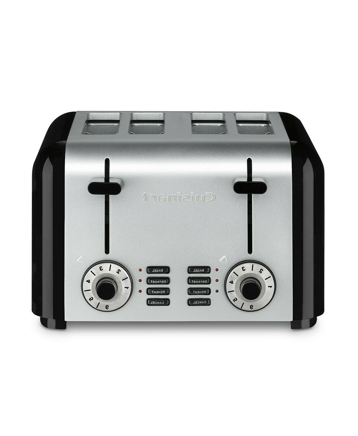 Cuisinart CPT-340 Compact Stainless 4-Slice Toaster, Brushed