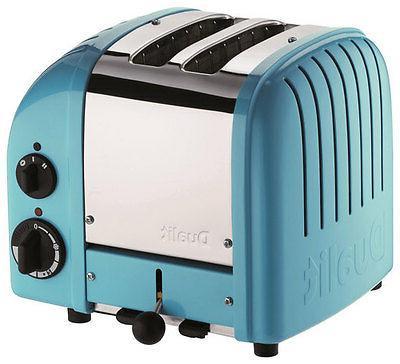 Dualit - Newgen 2-slice Wide-slot Toaster - Azure Blue