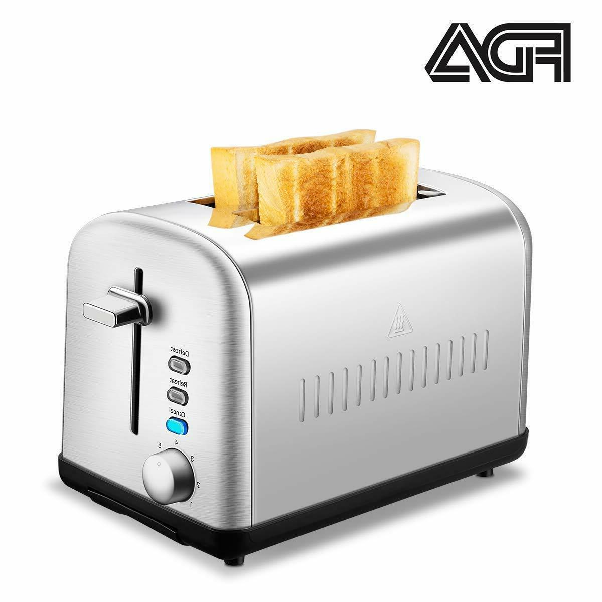 Home Gizmo 2 Slice Toaster Cool Touch with Extra-Wide Slots