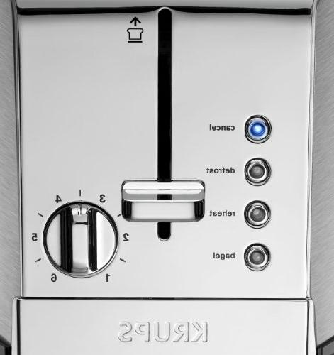 KRUPS KH732D50 toaster Stainless Steel