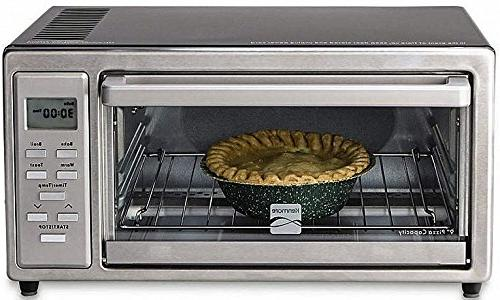 """Kenmore 4 slice Digital Toaster Oven with 9"""" Ceramic Pizza S"""