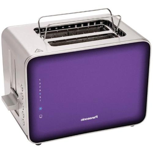 Panasonic NT-ZP1V Breakfast Collection 2-Slice Toaster, Stai