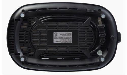 Amazon Basics 2 Extra-Wide Toaster With 6 Settings,
