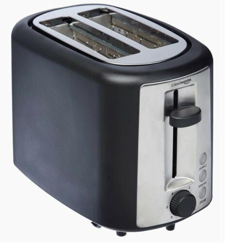 Extra-Wide Slot Toaster 6 Black