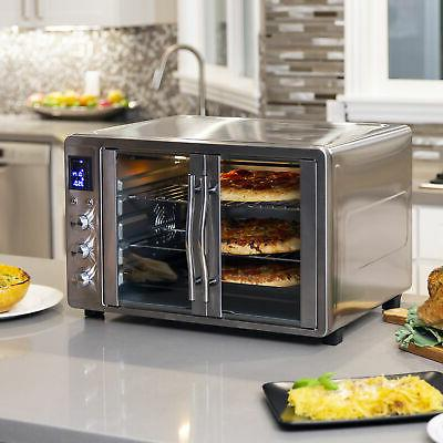 BCP Extra Large Countertop Oven w/ French Doors