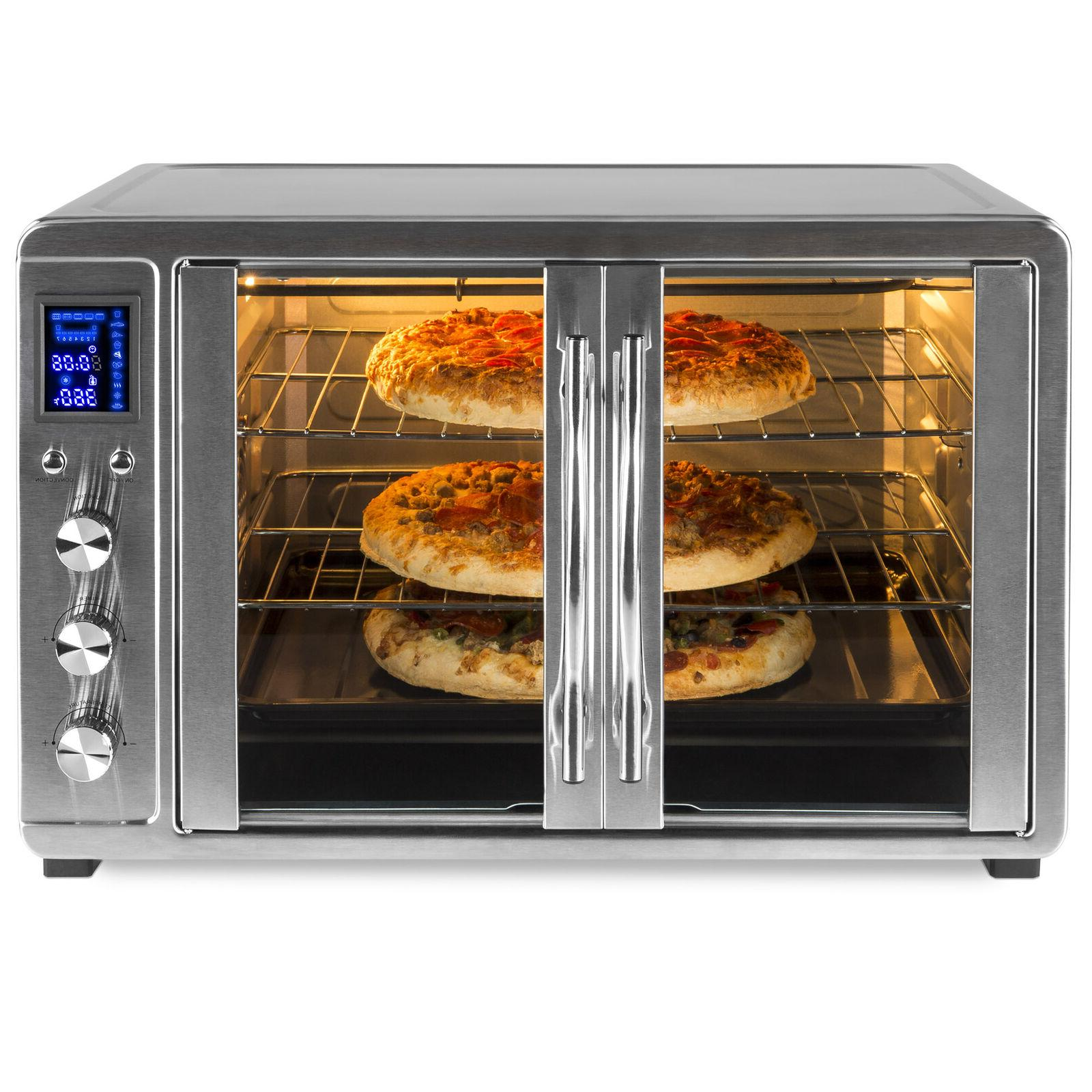 bcp 55l 1800w extra large countertop convection