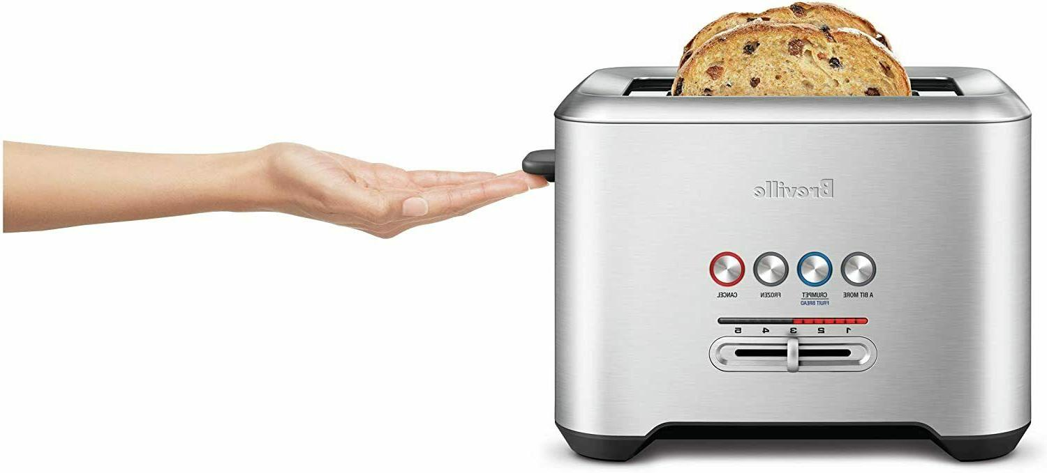 Breville 4-Slice Toaster, Stainless Free Shipping