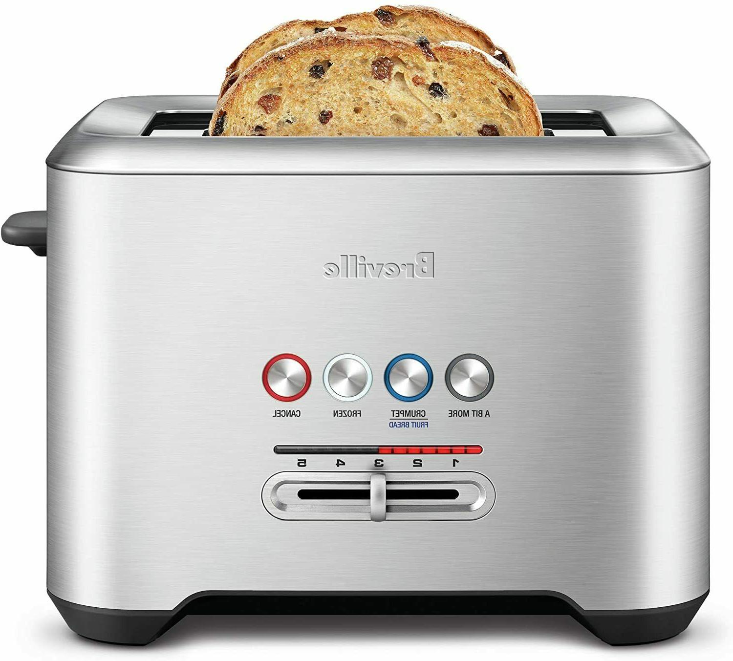 Breville Bit More 4-Slice Toaster, Brushed Stainless Steel, Free Shipping