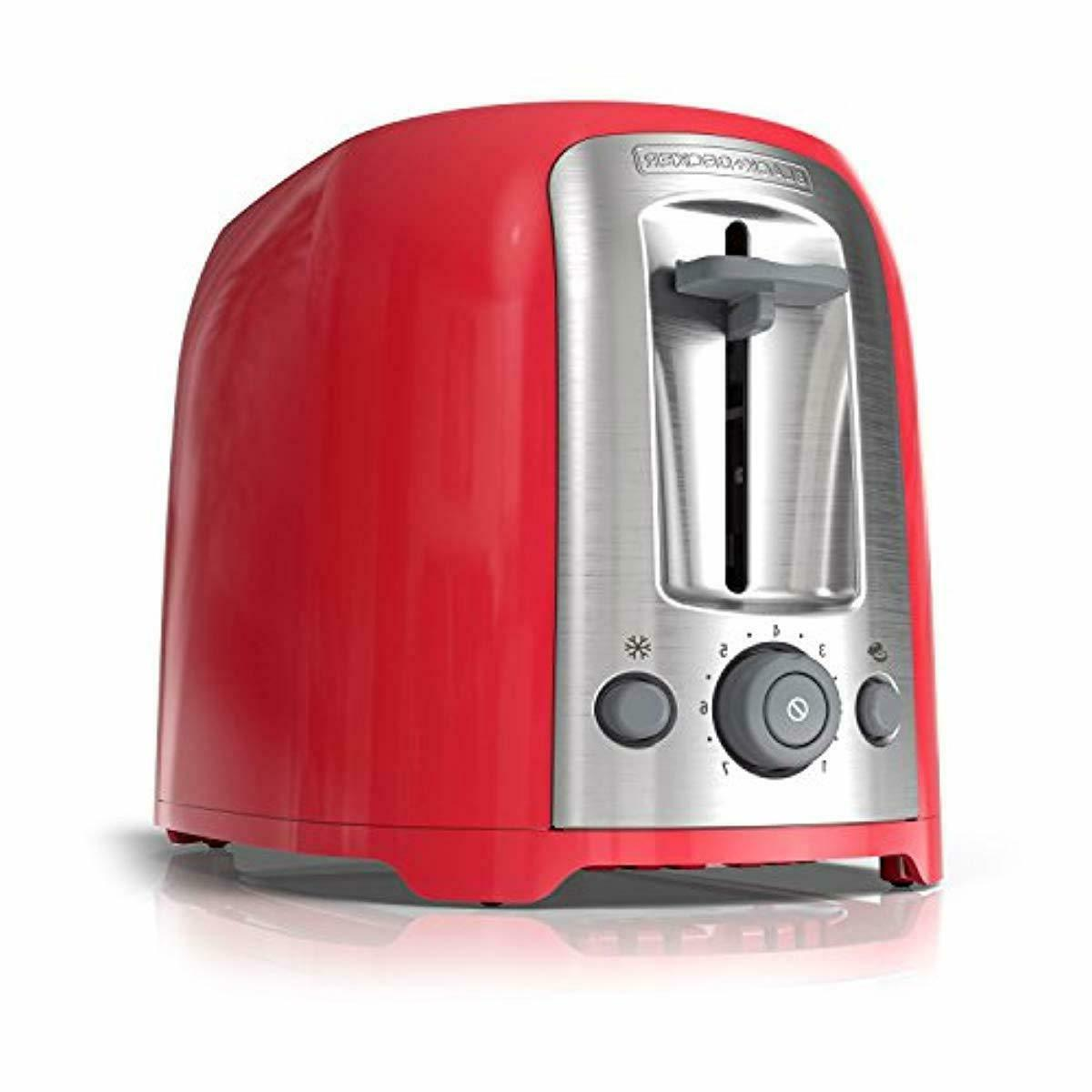 black and decker 2 slice toaster extra