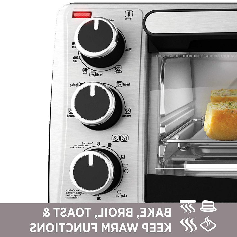 Black Decker Electric Kitchen Toaster 4