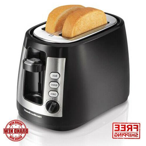 Hamilton Beach Black Cool Touch 2-slice Toaster with Retract