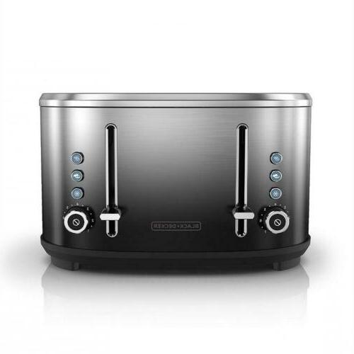 BLACK+DECKER Toaster, Ombré Finish,...