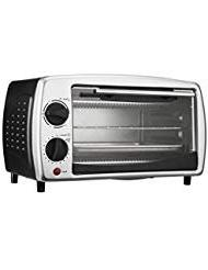 New Brentwood TS-345B Black 4-Slice Toaster Oven