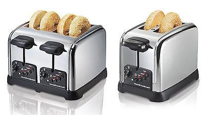Hamilton Beach Classic Chrome 2,4 Slice Toasters