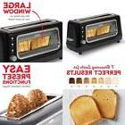 clear view toaster extra wide slot toaster