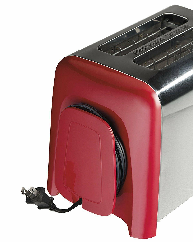 Hamilton Beach 2-Slice Toaster, & Red