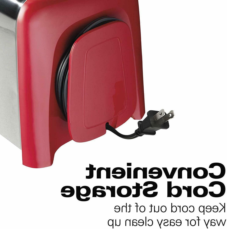Hamilton 2-Slice Electric Toaster, Chrome