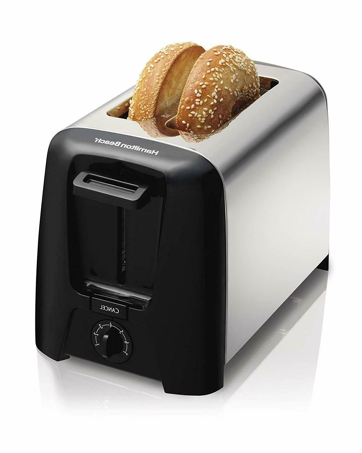 22614z cool wall 2 slice toaster new