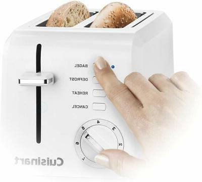 CPT-122 2-Slice Plastic Toaster