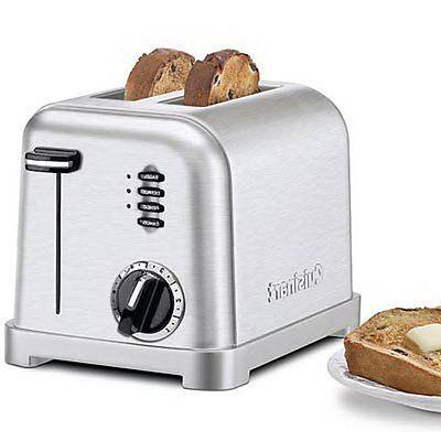 Cuisinart CPT-160 Metal Classic 2-Slice Brushed
